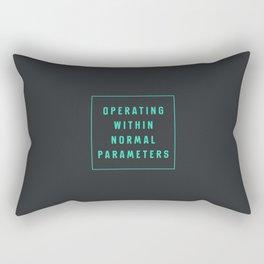 Normal Parameters Rectangular Pillow