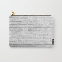 White Brick Carry-All Pouch