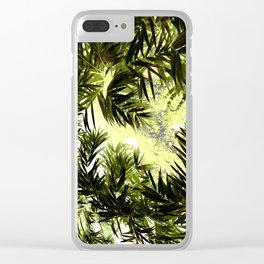 Household jungle #6 Clear iPhone Case