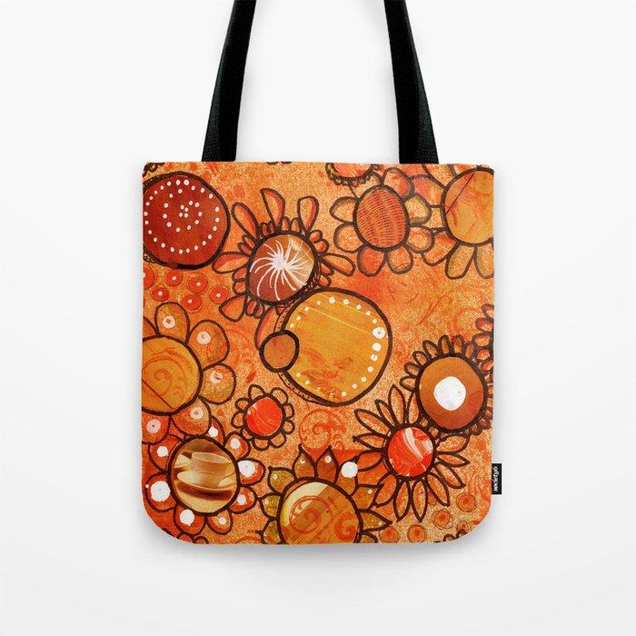 orange, yes Tote Bag