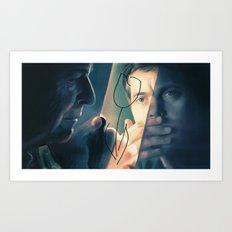 Walter and Peter Art Print