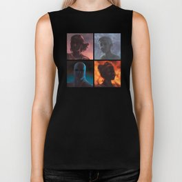 We Are No One: Polyptych Biker Tank