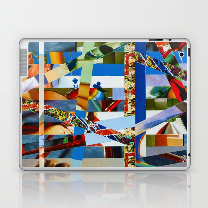 Michael (stripes 9) Laptop & iPad Skin