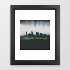 Fractions A49 Framed Art Print