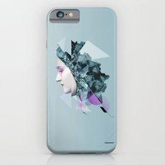 Faces Blue 04 iPhone 6s Slim Case