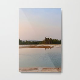 Yellowstone Evening II Metal Print