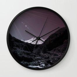 Mt Ruapehu Wall Clock