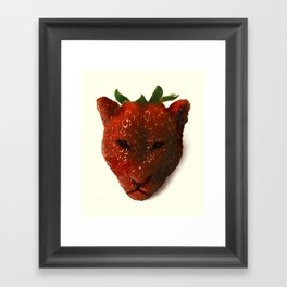 Strawrberry Framed Art Print