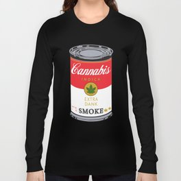 Campbell's Soup (Cannabis Indica) Long Sleeve T-shirt