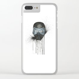 Kylo Ren - Empty Mask Clear iPhone Case