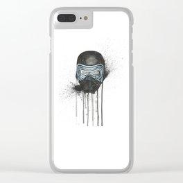Kylo Ren - Empty Mask Clear iPhone Case