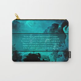 RETURN (1 Thessalonians 4:16-17) Carry-All Pouch