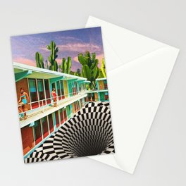 Time Warp Motel Stationery Cards