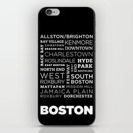 City of Neighborhoods - I iPhone Skin