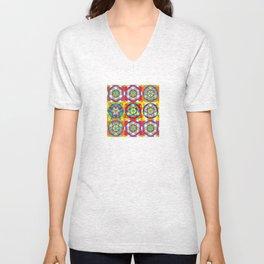 Three Six Nine - The Sacred Geometry Collection Unisex V-Neck