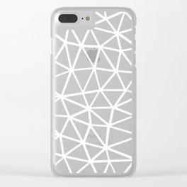 Seg Zoom 1 Clear iPhone Case
