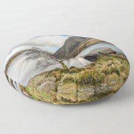 Lake Ogwen Snowdonia Floor Pillow