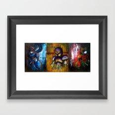 The X Series Framed Art Print