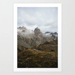 Hatcher Pass, Alaska Art Print