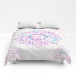 Winter Fiery Mandala Comforters