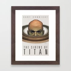 The Sirens of Titan Framed Art Print
