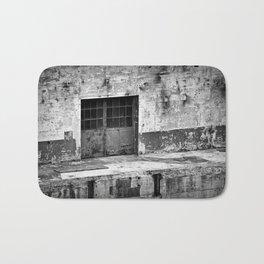 Power Plant Door 2 BW Bath Mat