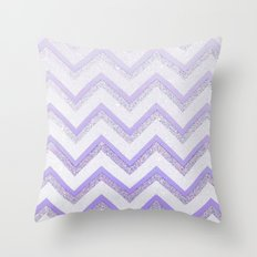 NUDE PURPLE Throw Pillow