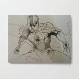 Hombre Araña Metal Print