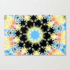 Kaleidoscope 'Twisted Flower' Canvas Print