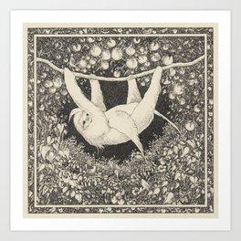 I am not a hammock, egret.  :-( Art Print