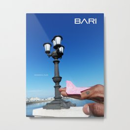 TAVEL TO BARI Metal Print