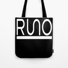 Rue Nothing RUNO Logo White Tote Bag