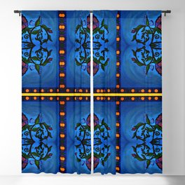 Los Palomas Symmetrical Art4 Blackout Curtain