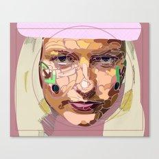 facial shapes Canvas Print