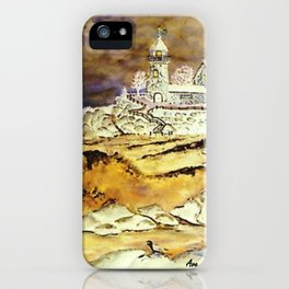 Brentons Lighthouse Ipod Cover by Ave Hurley iPhone Case