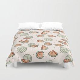 Watermelon Seamless Pattern Duvet Cover
