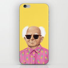 The Israeli Hipster leaders - David Ben Gurion iPhone Skin