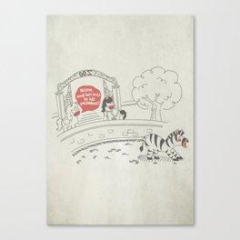 Sloth - Lazybra Canvas Print