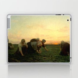 Jules Breton - The Weeders Laptop & iPad Skin