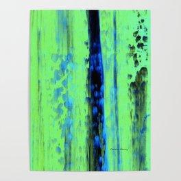 Gerhard Richter Inspired Urban Rain 2 - Modern Art Poster