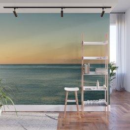 Sunrise and serene ocean Wall Mural