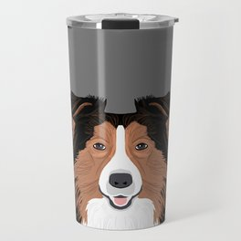 Jordan - Shetland Sheep Dog gifts for sheltie owners and dog people gift ideas perfect dog gifts Travel Mug