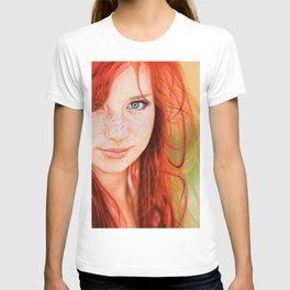 Redhead Girl T-shirt