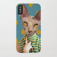 polka dot iPhone & iPod Cases featuring DOT by Julia Lillard Art