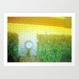 Damaged Disposable Camera Film - Hospital Wall Art Print