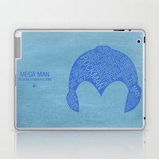 Mega Man Typography Laptop & iPad Skin