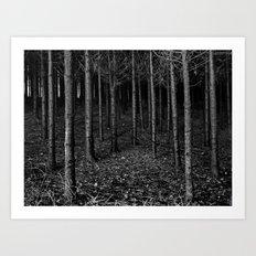 Armee of Trees Art Print