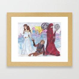 The Devil On My Shoulder Framed Art Print