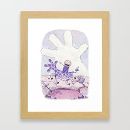 Everything Says Hello Framed Art Print