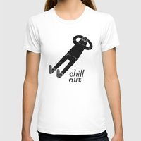 chill T-shirts featuring Chill Out by Chase Kunz